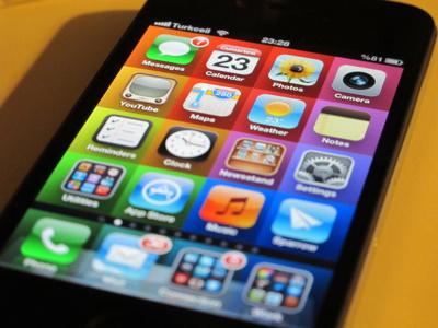 ColorGrid Home Screen Wallpaper iphone wallpaper color grid rainbow home screen