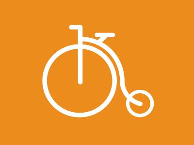 Old Bicycle Icon