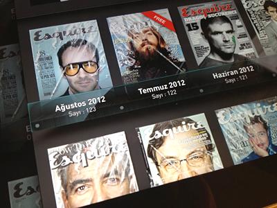 Magazine Rack ipad magazine rack shelf glass cover grid