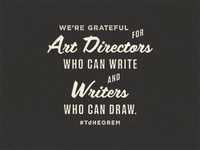 Art Directors and Writers