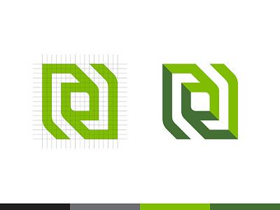 NVIDIA logomark identity branding motherboard chip computer logo