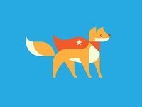 Flying Fox Mascot