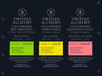Twisted Alchemy Labels