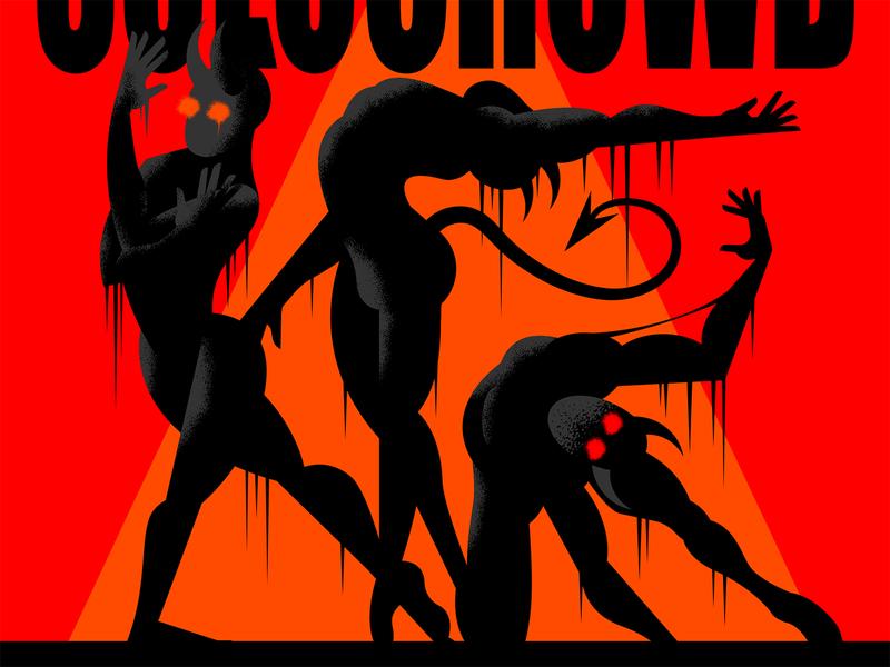 Same Old Devils... novel graphic comic theater perform stage demon dancing october halloween illustration form body devil ballerina balance dance figure character