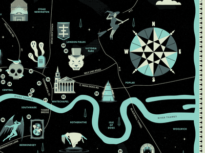 Occult London - Map