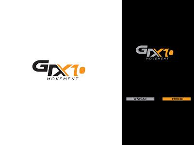 GTX10 MOVEMENT LOGO DESIGN brand identity design logo photoshop design illustrator design unique logo design creative logo design clean logo minimalist logo design flat logo design text logo logo design