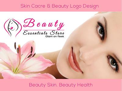Skin Care & Beauty Logo Design unique logo design illustrator design logo photoshop design logo design creative logo design flat logo design beauty logo