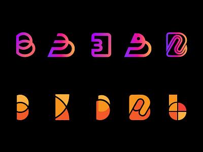 Logo Alphabet: B letter marks - logo symbols & icons monogram logo logo logo design smart logo design letter mark logo branding design corporate branding corporate identity colorful logos b shape logo b shape logo b letter logo alphabets alphabet logo