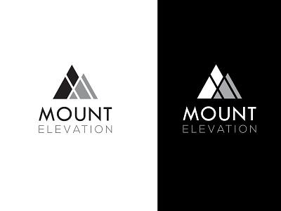 Mount Elevation Logo illustrator logo smart logo flat logo design illustrator design branding identity photoshop design logo design branding creative logo design unique logo design logo logo design mount elevation