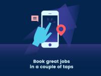 App Onboarding Illustration Screen #2