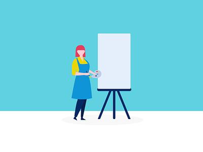 limber digital illustrations | Use your creative skills ui vector illustration limber app illustration flat design illustration digital illustration