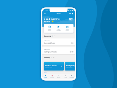Invoicing app | Your dashboard invoicing app app dashboard app ux design ui design design ui