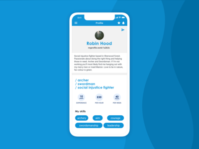 Invoicing app   Your profile