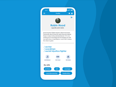 Invoicing app | Your profile your profile app design profile ux design ui design design ui