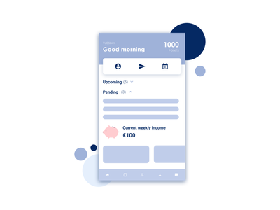 Invoicing app | Dashboard FAQ mobile app app illustration vector illustration digital illustration flat design graphic design visual design faq ui design invoicing app