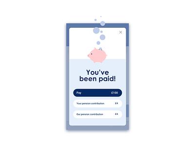 Invoicing app | You've been paid FAQ invoicing app mobile app app design ui ui design app illustration flat design digital illustration illustration