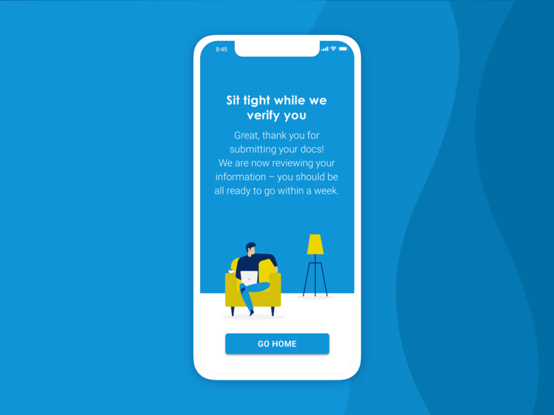Invoicing app | Verification #3 mobile app ux design app design ui design vector illustration ui app illustration flat design illustration digital illustration