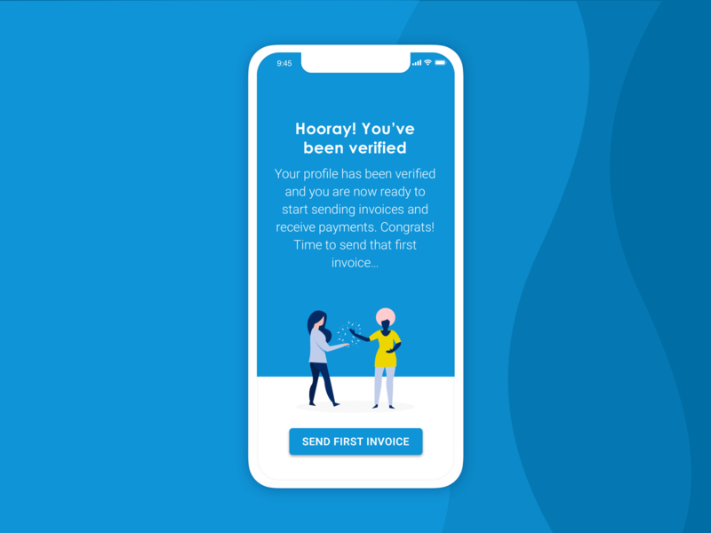 Invoicing app | Verification #4 invoicing app mobile app ux design ui design app design vector illustration ui app illustration flat design illustration digital illustration