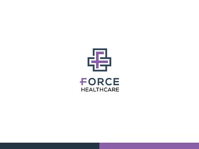 F + Logo Design logo logos lettering logo medical logo brand mark logo idea monogram logo marks minimal logo flat logo health logo f logo