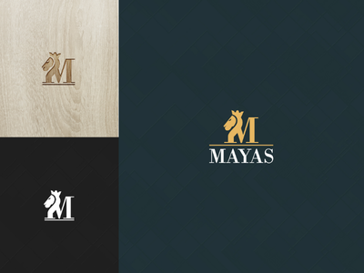 MAYAS Logo Design (M+lion) logo mark interior logo m lion m logo lion icon lion logo animation logo idea logo design logo brand identity brand