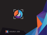 Hourly Job Logo/ Timely Project Logo/ Time Work Logo