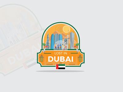 Dubai Travel logo 1