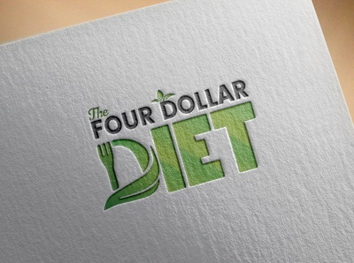 4$ Diet Logo Design