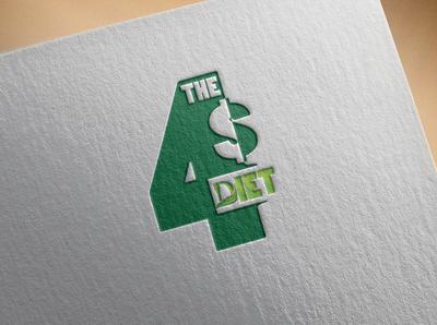 4$ Diet logo Idea