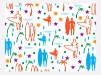 Safari Beach Pattern