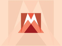 M Letter Logo & Icon 114