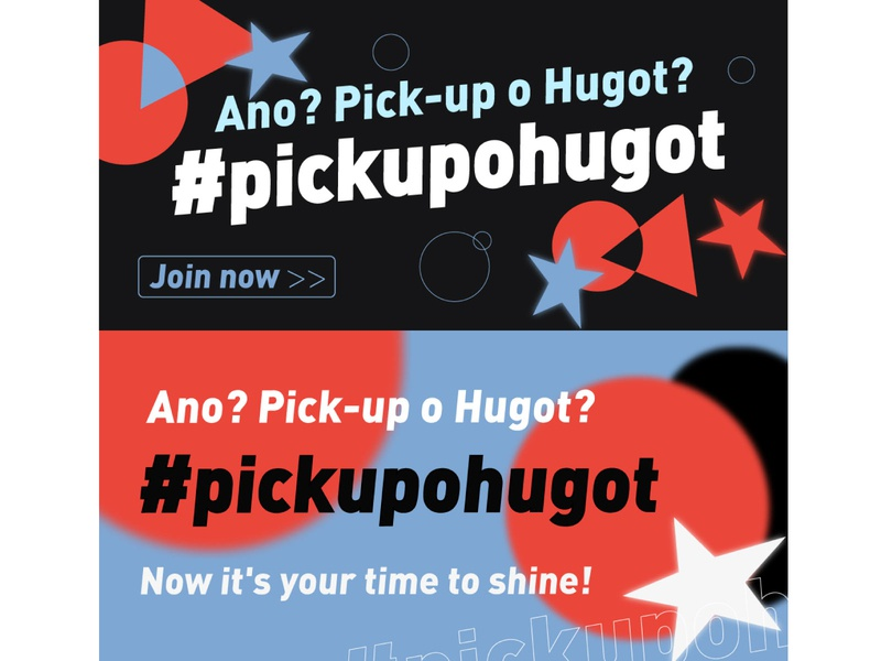 TikTok The Philippines banner logo 贴纸设计 字体设计,logo illustration typography design flat 字体设计
