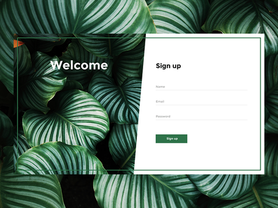 DailyUI #001 day1 challenge web ui form sing up 001 daily