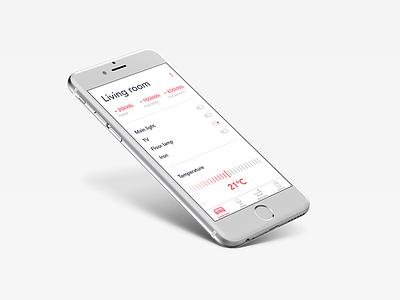 Daily UI #007 - Settings ui smart home ios iphone mobile day7 dailyui settings