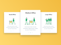 Office Sizes | Daily UI 011