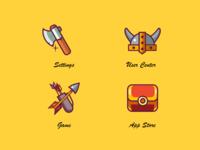 Tribal War/Icon Design