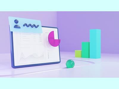UI 3D illustration 3d blender 3d product design 3d modeling design illustration design 3d illustration uidesign illustration