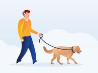 walk with friend