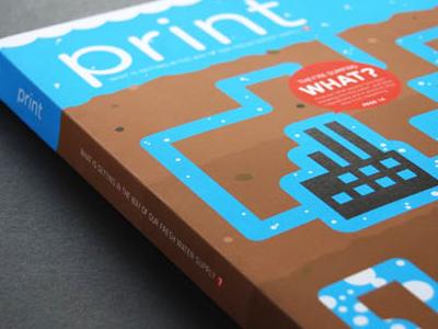 Print Concept print cover magazine