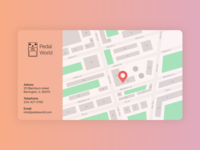 #Figma #DailyUI #029 Map
