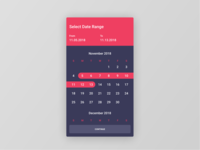 Figma #DailyUI #080 Date Picker