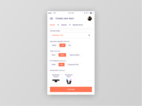 Figma #DailyUI #090 Create New