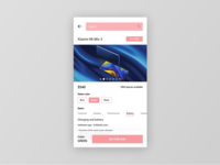 Figma #DailyUI #096 Currently In-Stock