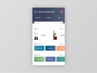 Figma #DailyUI #099 Categories