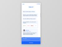 Figma #DailyUI #100 Redesign Daily UI Landing Page
