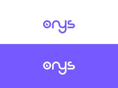 Smart wordmark logo for Onys