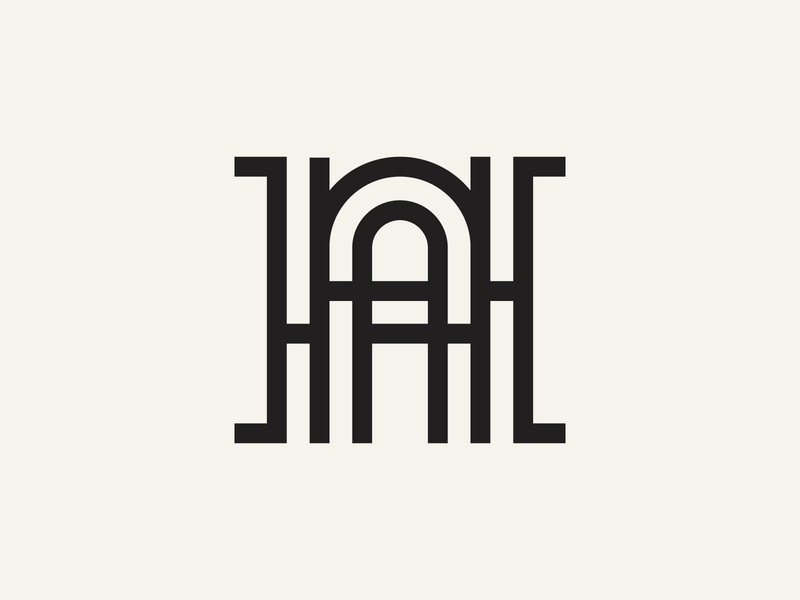 HA Monogram logo