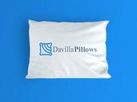 Davilla Pillows pillow logo design