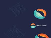 NetCruise logo design
