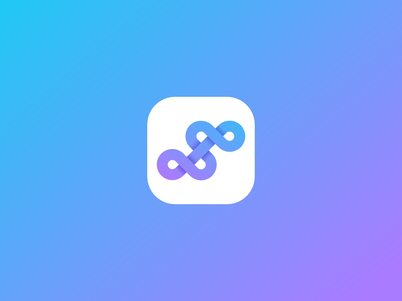 Abstract S logo design icon design icon blue purple logodesigner logodesigns logodesign logo creative gradient modern flat lettermark letter slogo s