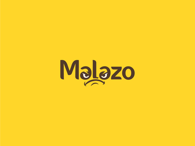 Modern Typography logo for Malazo